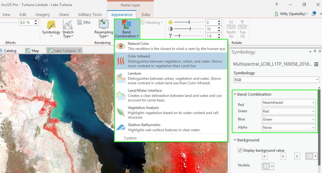 ArcGIS Pro Display Landsat
