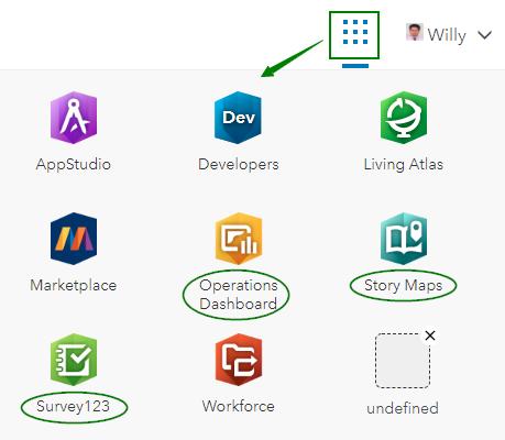 ArcGIS Online apps