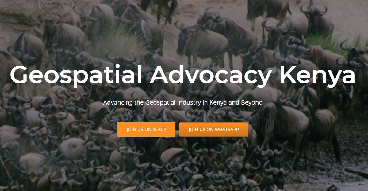 Geospatial Advocacy Kenya FAQ